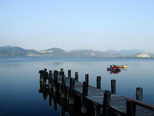 Le lac de Massaciuccoli